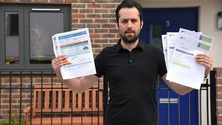 Rainham resident Colin Nickless is angered by the rise in energy bills