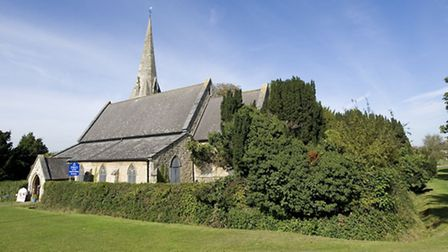 St Paul's Church, in the green in Woodford Bridge. Iain Duncan Smith wants to add the area to his co