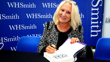 Martina Cole at the Liberty shopping centre in Romford promoting The Good Life in 2014.