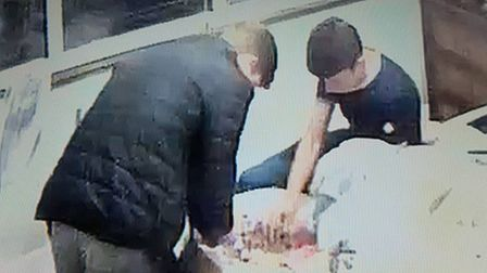 Boys, who crashed a house party in Upminster, caught on CCTV stealing money and jewellery