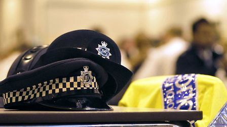 A police officer has denied 12 fraud charges.
