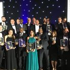 The assembled winners from Friday night's Thames Gateway Business Awards 2016.