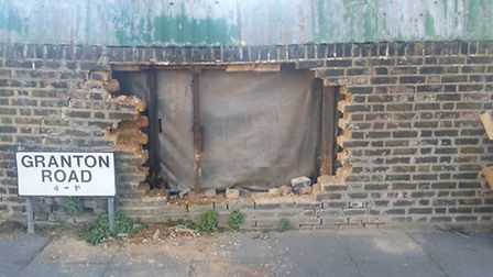 Mr Rashid's property, in Ashgrove Road, has now been targetted by brick thieves three times.
