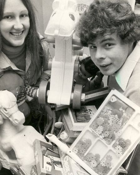 Kevin Jenkins at an early Toy Appeal collection