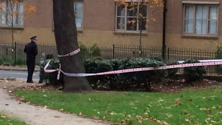 A woman was stabbed at Costa Coffee, The Broadway, Woodford Green, after an alleged burglary took pl