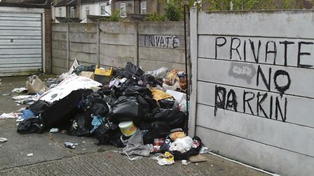 Fly-tipping in Newham