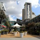 The attack took place in Westfield Stratford City Picture: PA