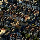 Stratford from the sky Picture: Chris Radburn/PA