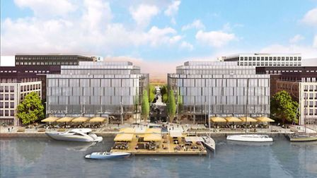 The future of the Royal Docks Picture: ABP