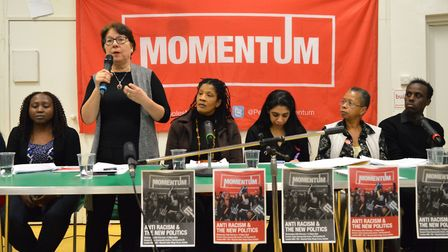 A meeting of the local Camden division of Momentum. Photograph: Polly Hancock.