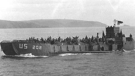 A Landing Craft Tank similar to that used by No. 93 Embarkation Unit in 1944. Photo: US National Arc
