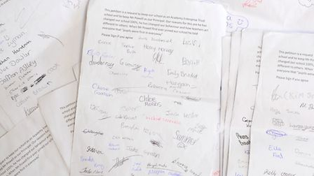 Pupils from East Point Academy have set up a petition to support Headteacher Neil Powell in staying