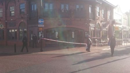 Police have confirmed that an assualt took place. Photo Niall Joyce