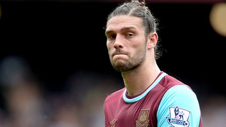West Ham United's Andy Carroll.