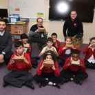 Google visiting children at Fairlop Primary School for some interactive workshops
