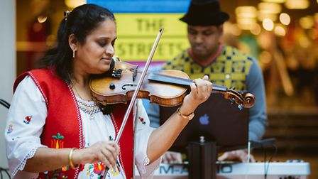 Jazz and Indian Fusion band Jyotsna and Bangalore Dreams perform at The Exchange on Saturday