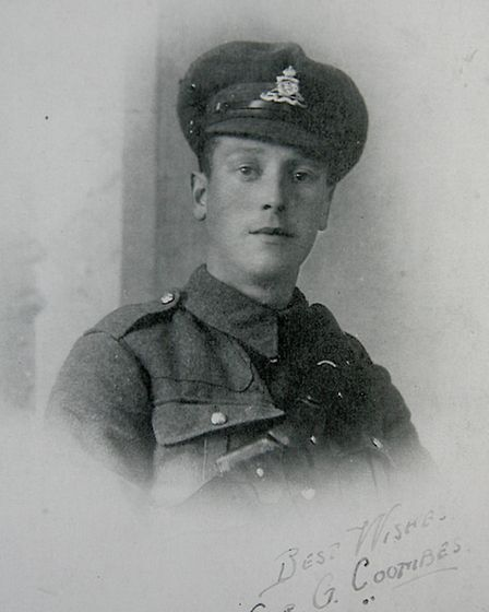 100th anniversary of the Battle of Loos this week. George Coombes, age21 1917 Cairo