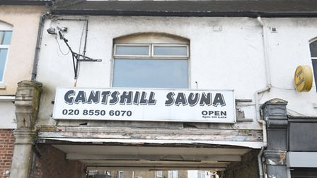 Gants Hill Sauna, the previous name of the massage parlour.