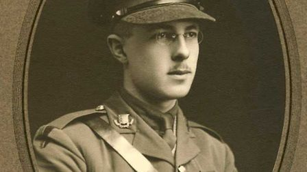 Capt Herbert Edwin Hawkins, of Ilford, who died during the Somme. Picture: Hawkins family