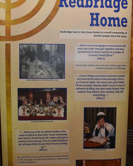 The Eastside Community Heritage have launched an exhibition on Jewish migration at Sinclair House.