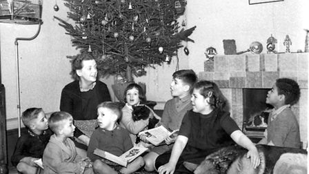 Christmas at West Ham Children's Home.