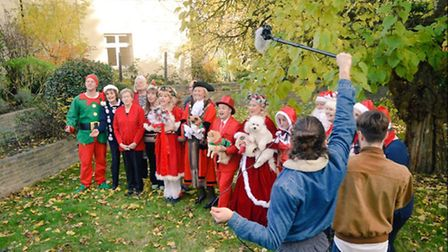 Havering Mind choir records its Christmas song 'One day nearer' Credit: helloDAVID TV & Promotions