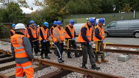 Havering College's rail training academy helps ex-offenders and long-term unemployed back into work