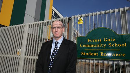 Headteacher of Forest Gate Community School Simon Elliott