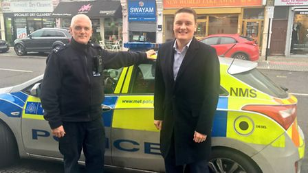 Ilford North MP Wes Streeting joined a local police team on a number of call-outs around Redbridge o