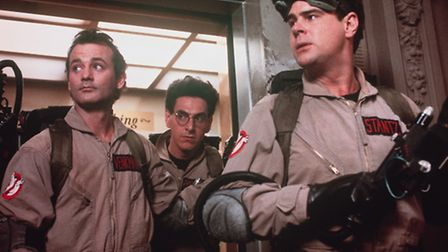 The 30th anniversary of Ghostbusters is being celebrated in Lowestoft. Bill Murray (left), the lat
