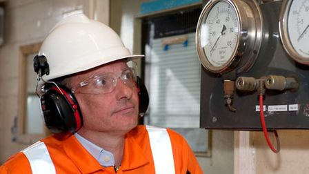 Steve Loades, who has won a health and safety award. Picture: Ulrich Schepp.