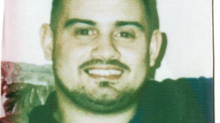 Christopher Lombard who was shot while working as a doorman in Ilford in 1996