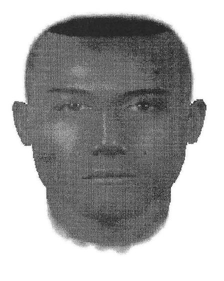 An Efit released by police of a suspect involved with the 1996 murder of Christopher Lombard