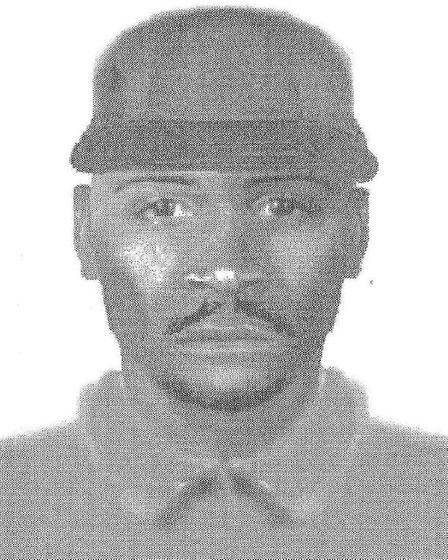 An Efit released by police of a suspect involved with the murder of Christopher Lombard in 1996
