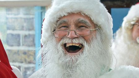 Father Christmas. Picture PA.