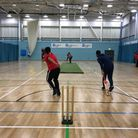 Action from the latest round of matches at the Chance to Shine indoor league at UEL