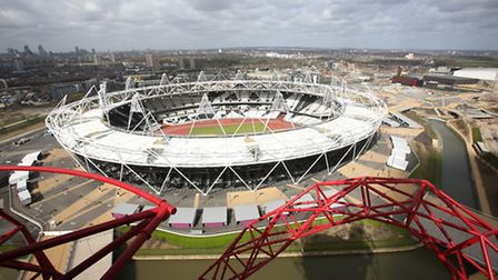 West Ham United contributed �15m to building the stadium and pays �2.5m rent a season. Picture: Phil