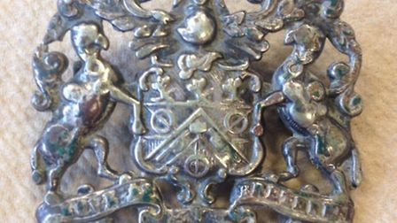 An anonymous collectioners sent the Coopers' Company and Coborn School one of their badges estimated