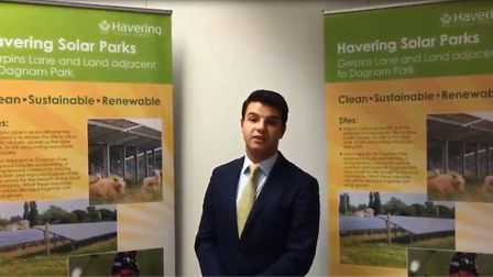 Havering Council's cabinet member for environment, regulatory services and community safety, Cllr Os