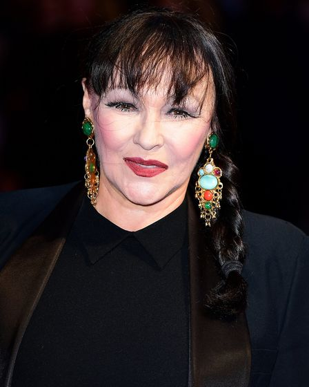 Frances Barber attending the premiere of Film Stars Don't Die In Liverpool as part of the BFI London