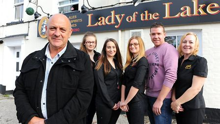 The Lady of the Lake pub in Oulton Broad which is organising a fund-raising event for Adele Bellis,