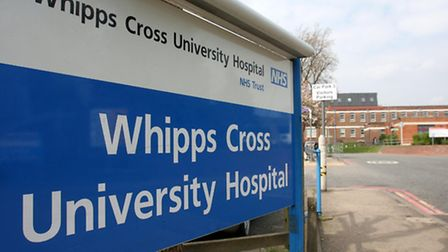 Whipps Cross Hospital, in Leytonstone, cancelled 28 urgent operations in November. Photo: PA