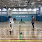 Action from the latest indoor cricket matches at UEL