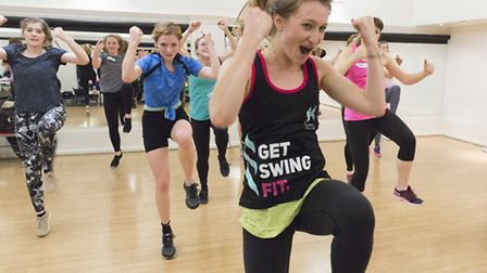 Swing Train class in action. Picture: Swing Patrol