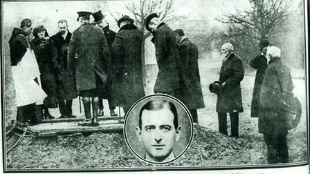 A newspaper report on the funeral of Dr Angel whose grave is in the East London Cemetery.