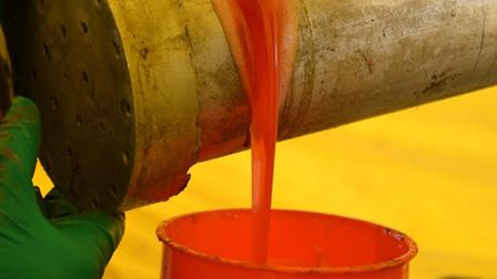 The liquid cocaine, which was bright pink, had been concealed in oil cannisters.