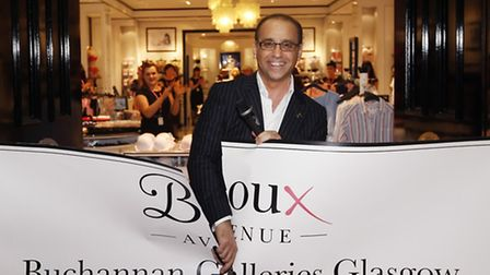 Theo Paphitis during the opening of his first Boux Avenue lingerie store in the UK at the Buchannan