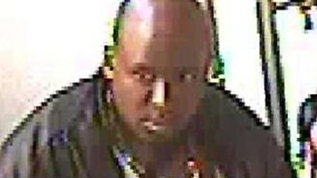 Do you know this man? Police want to speak to him in connection with a BB gun assult. Picture Met Po