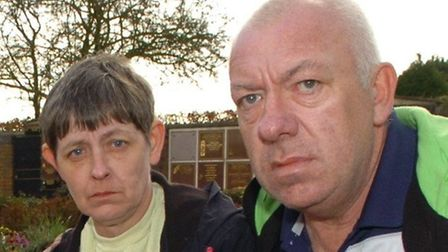 Rosemary and Brian Relf, pictured here in 2013