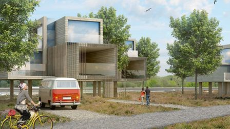 One of the proposed homes. Picture: Assael Architectures.